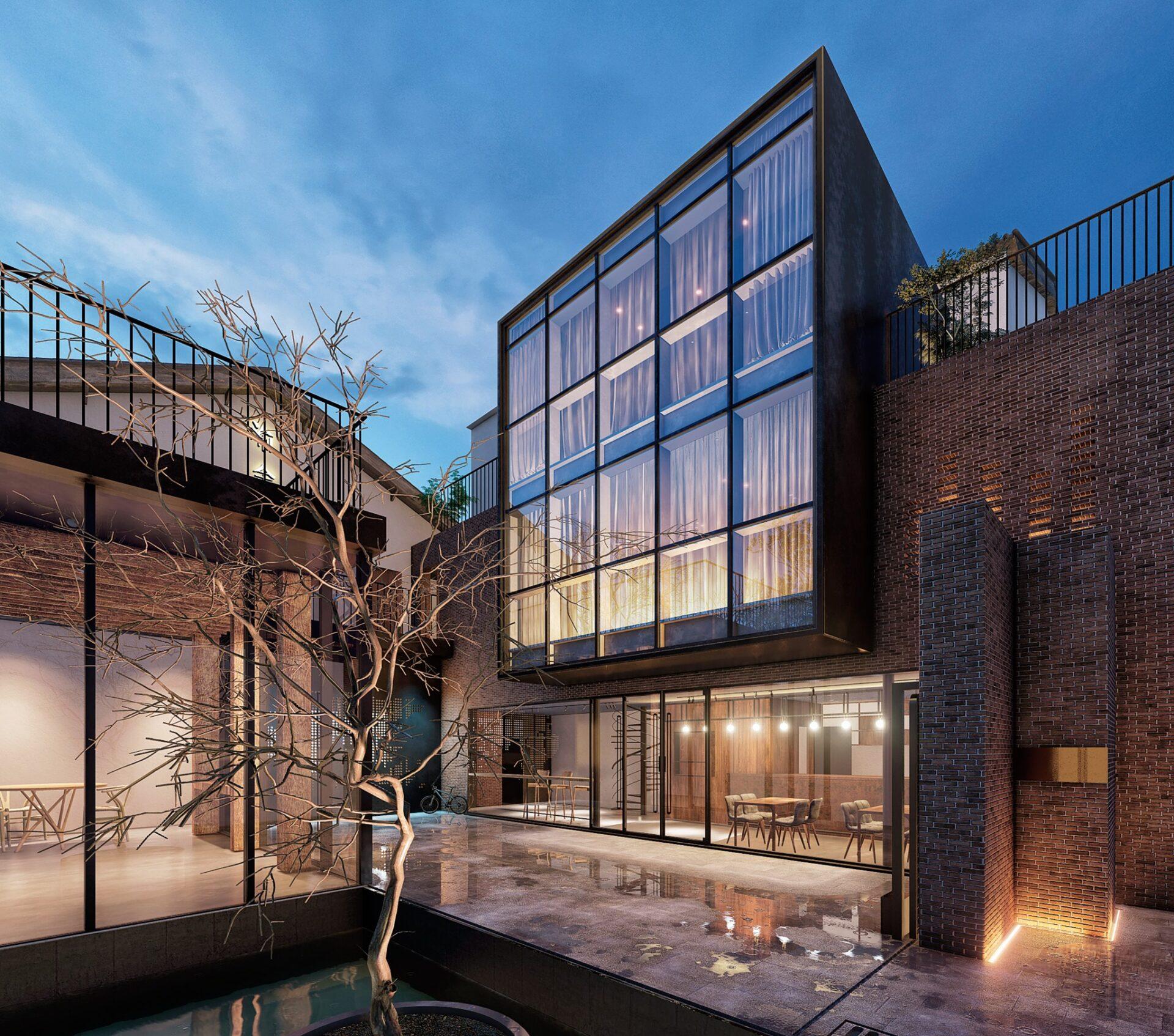 arhitektuurne 3d pilt hoone visualiseerimine 02