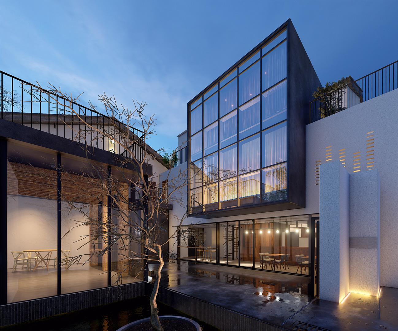 arhitektuurne 3d pilt hoone visualiseerimine 13