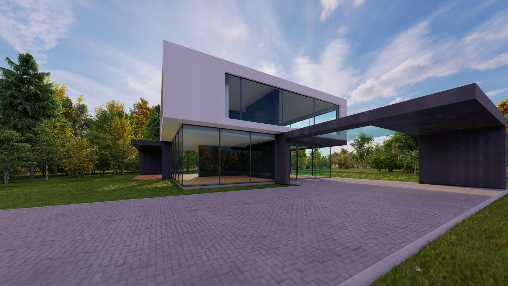 arhitektuurne 3d pilt hoone visualiseerimine 49