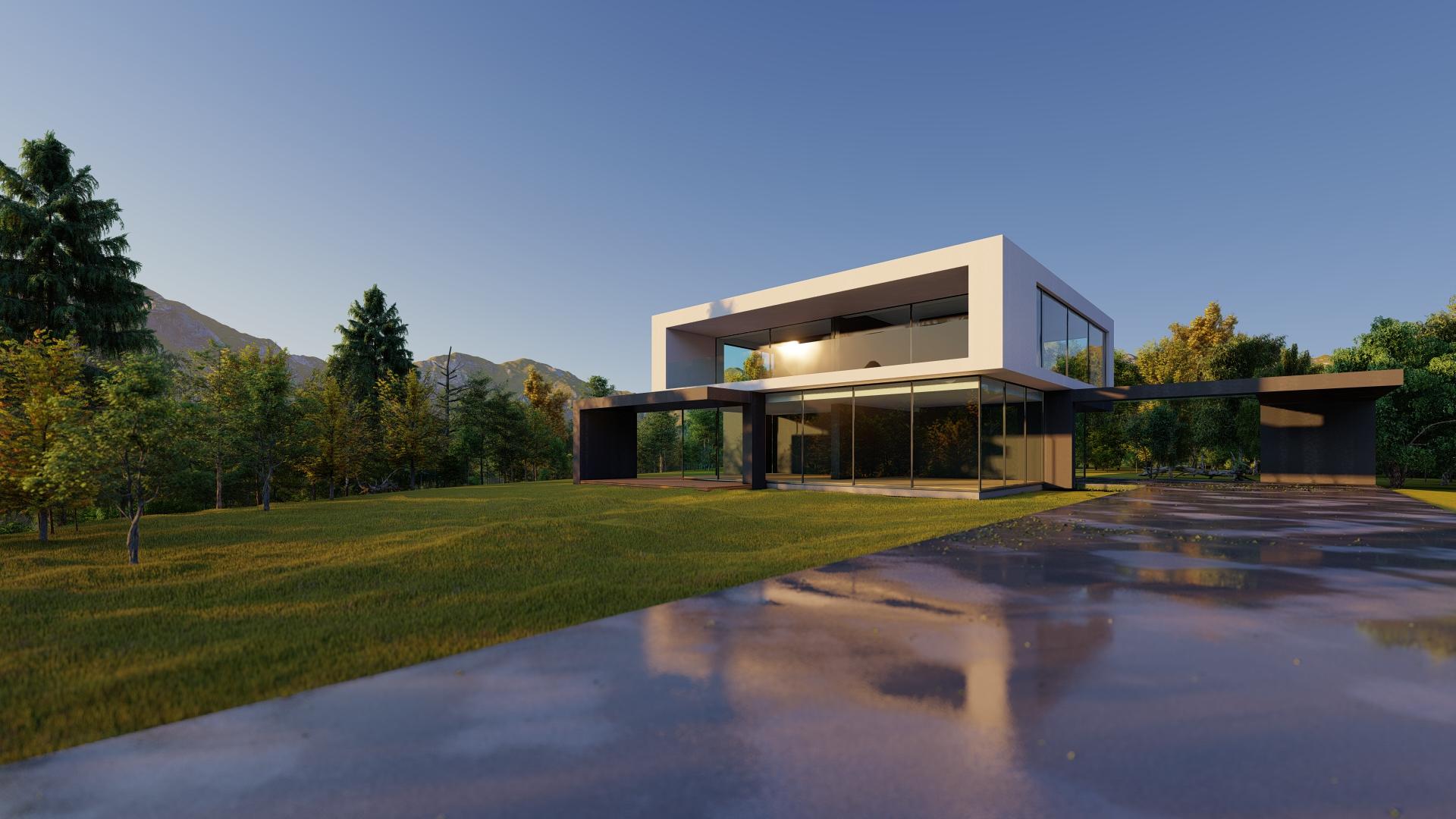 arhitektuurne 3d pilt hoone visualiseerimine 43
