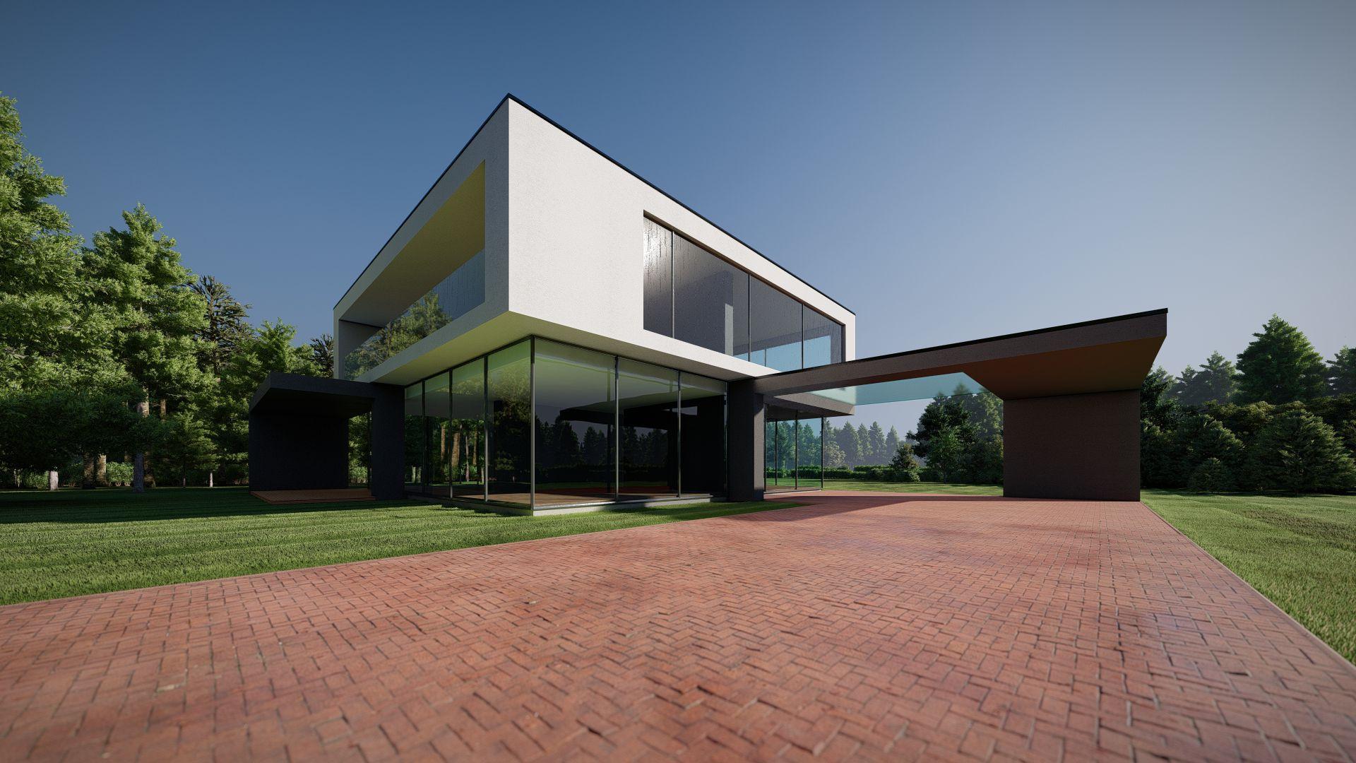 arhitektuurne 3d pilt hoone visualiseerimine 52
