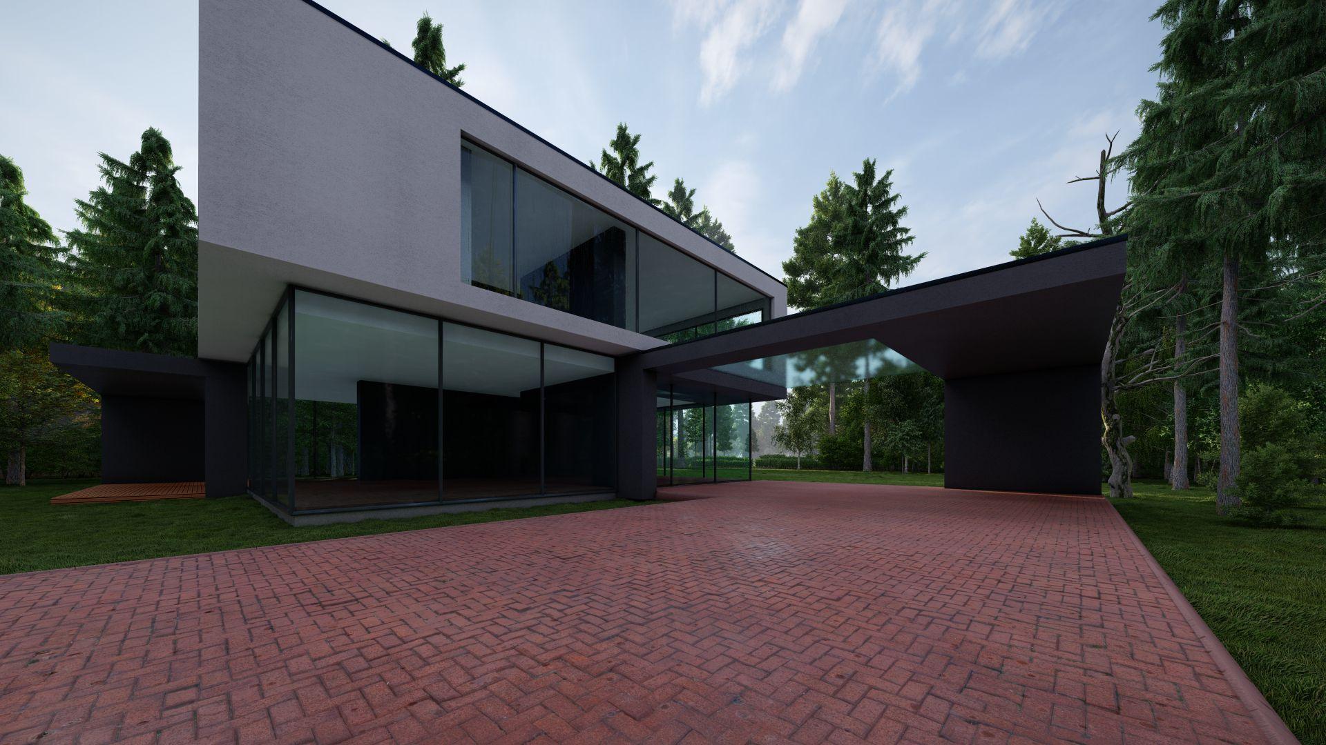 arhitektuurne 3d pilt hoone visualiseerimine 53