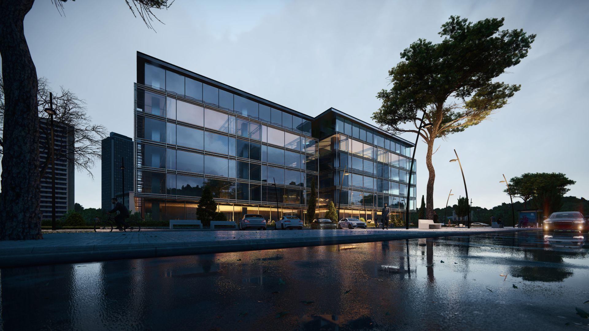 arhitektuurne 3d pilt hoone visualiseerimine 101