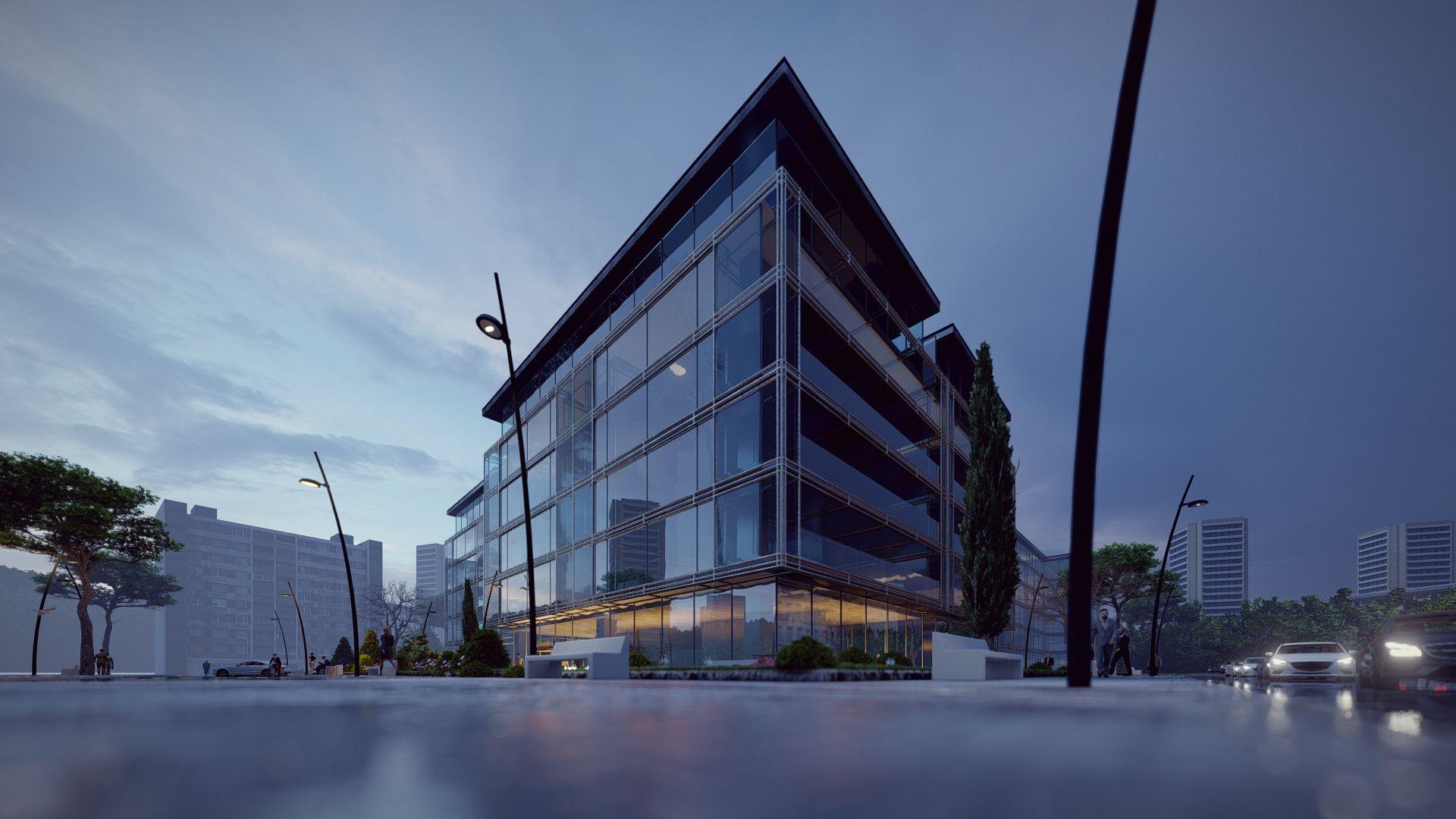 arhitektuurne 3d pilt hoone visualiseerimine 106
