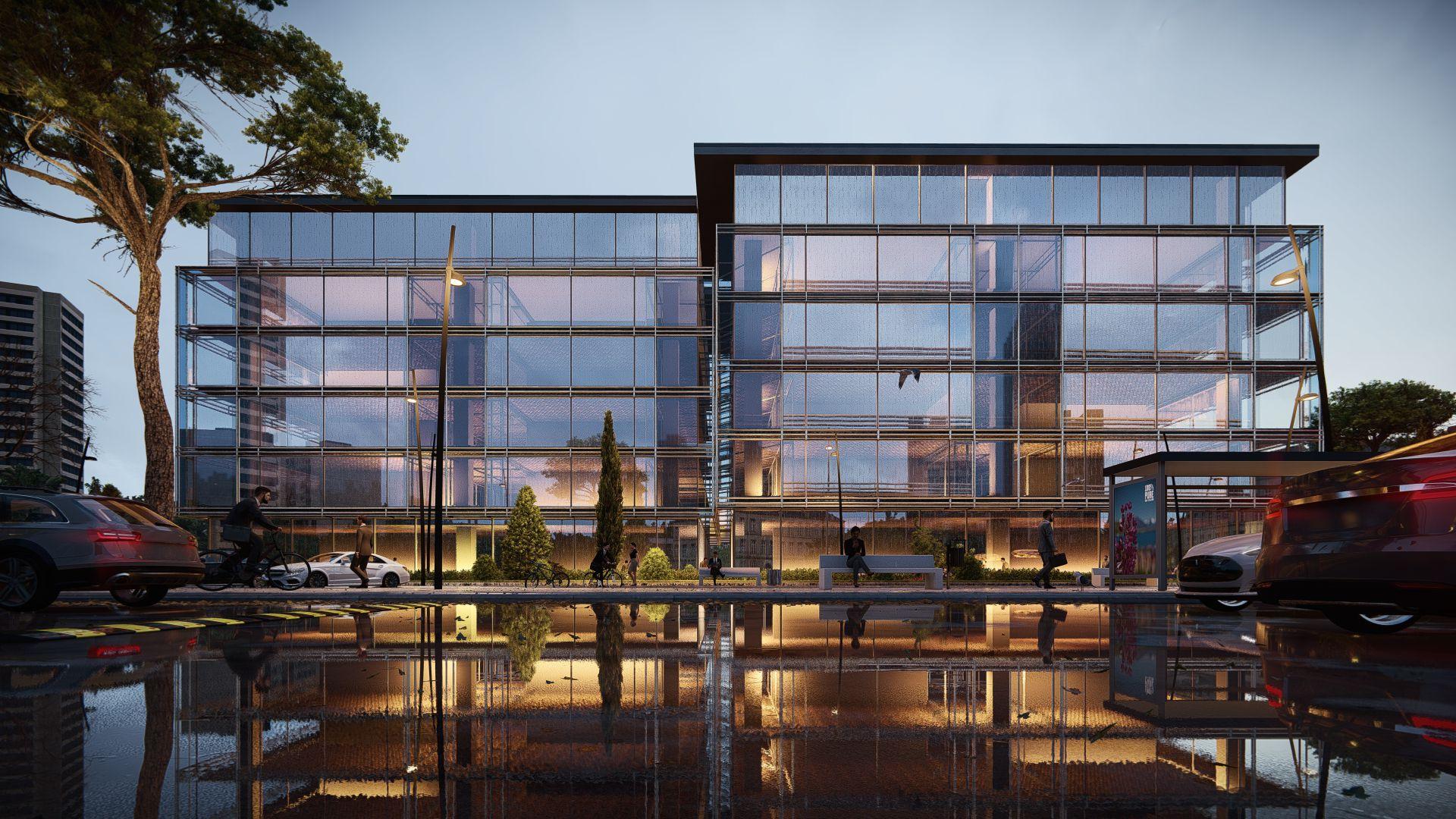 arhitektuurne 3d pilt hoone visualiseerimine 107