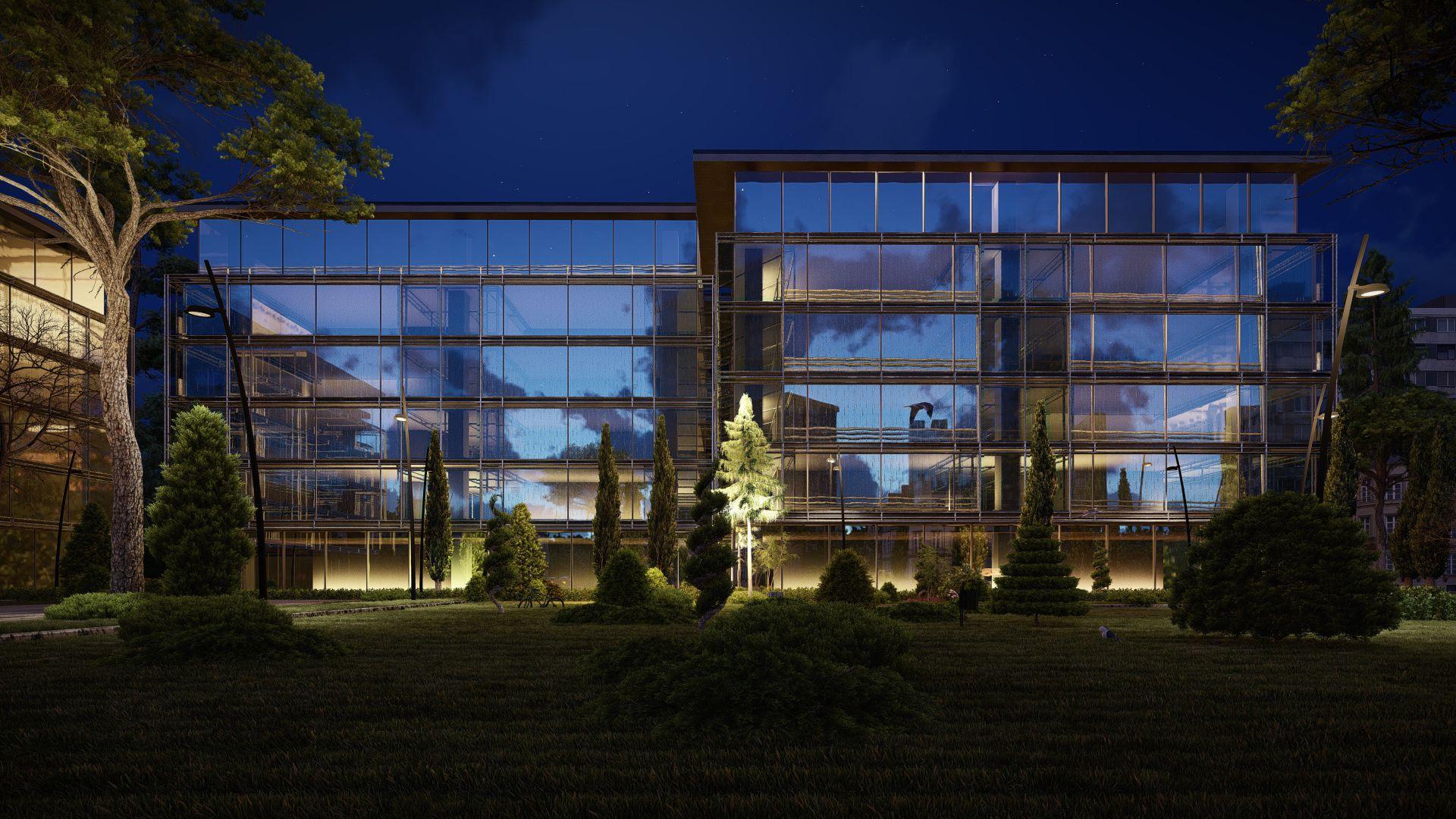 arhitektuurne 3d pilt hoone visualiseerimine 152 13 Photo
