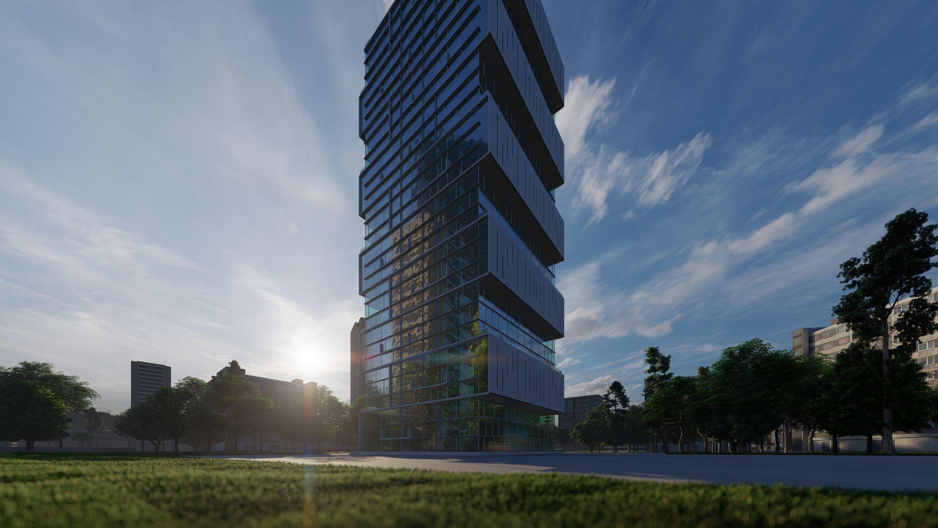 arhitektuurne 3d pilt hoone visualiseerimine 165