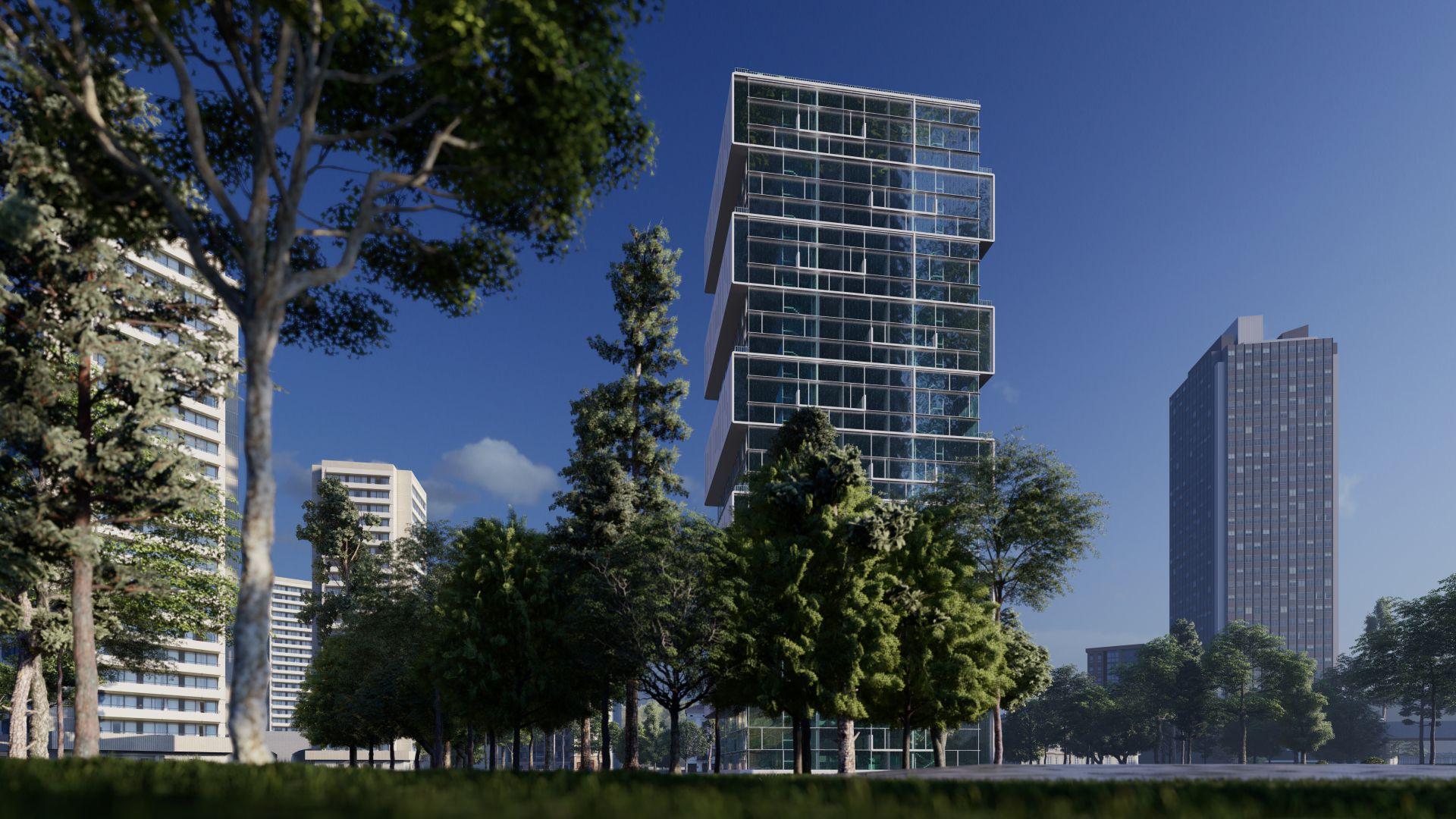 arhitektuurne 3d pilt hoone visualiseerimine 167