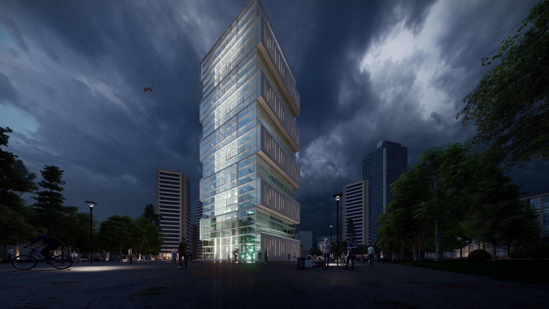 arhitektuurne 3d pilt hoone visualiseerimine 171