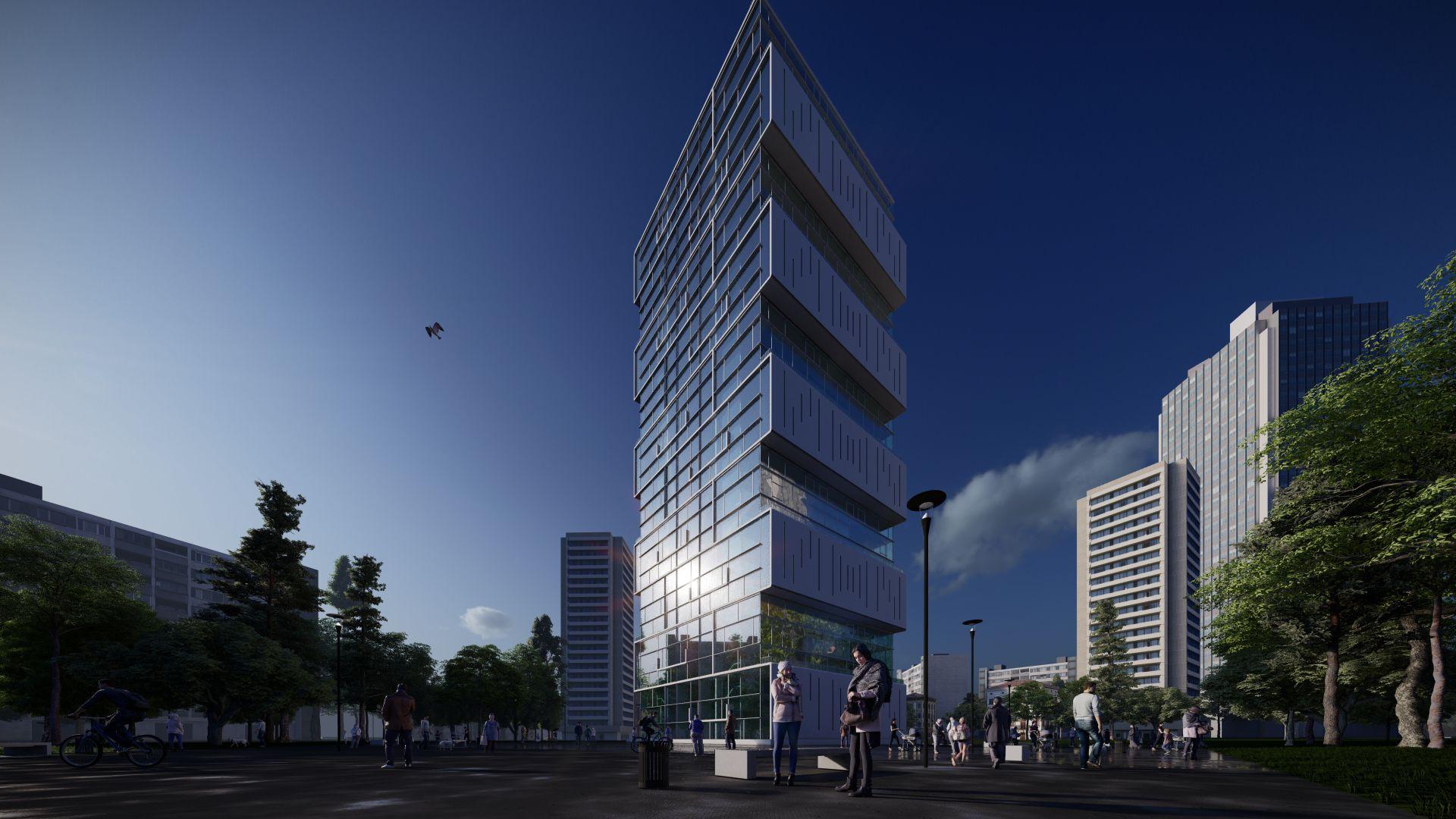 arhitektuurne 3d pilt hoone visualiseerimine 172