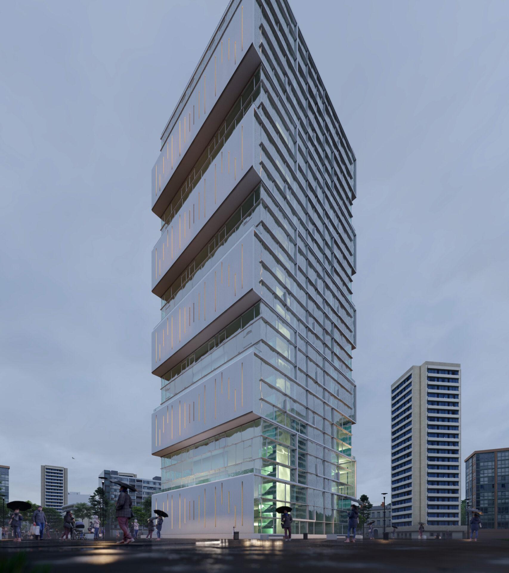 arhitektuurne 3d pilt hoone visualiseerimine 181