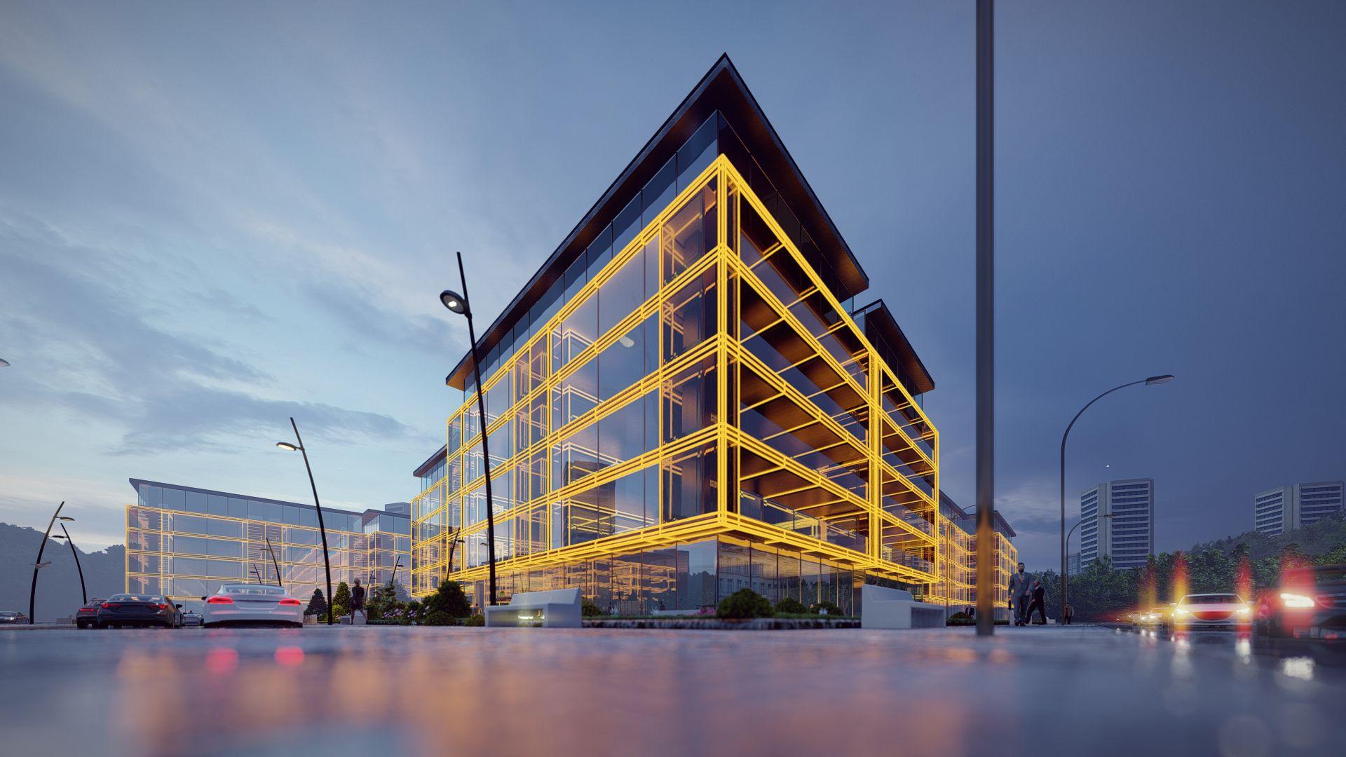 arhitektuurne 3d pilt hoone visualiseerimine 72