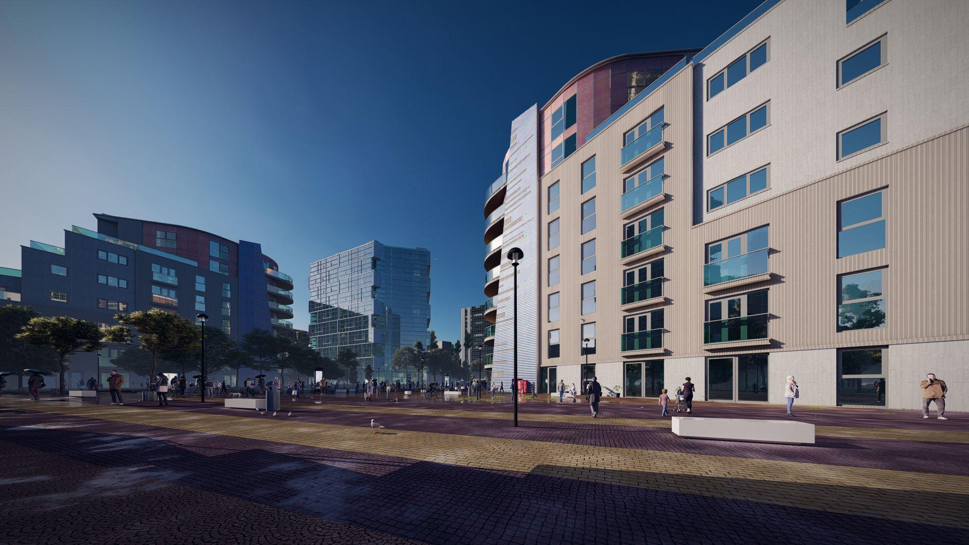 arhitektuurne 3d visualiseerimine hoone plokk 15