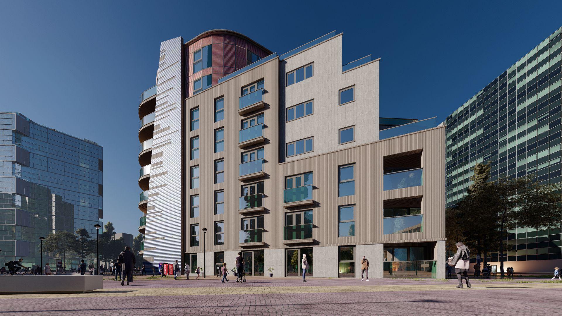 arhitektuurne 3d visualiseerimine hoone plokk 24