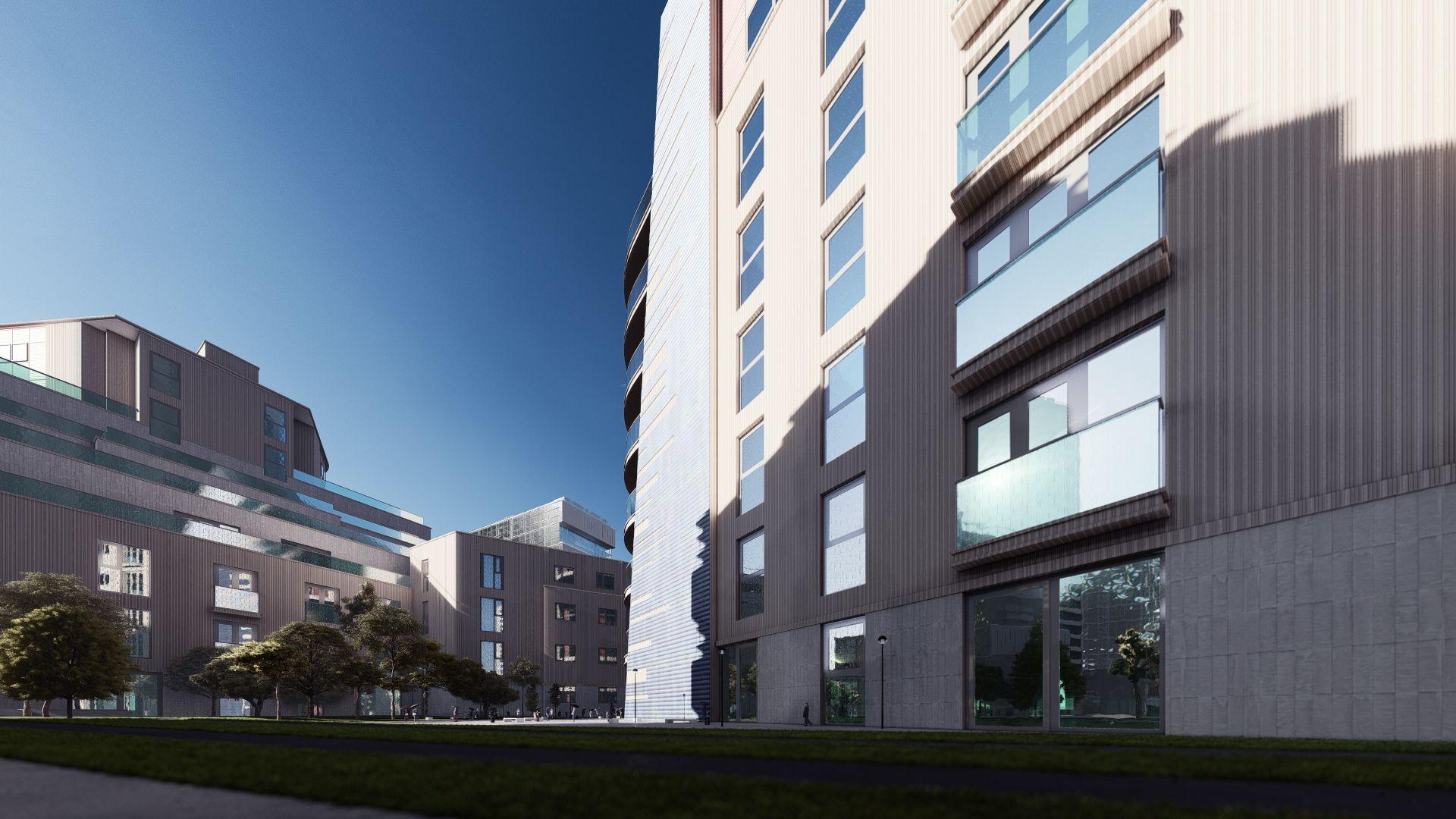 arhitektuurne 3d visualiseerimine hoone plokk 4