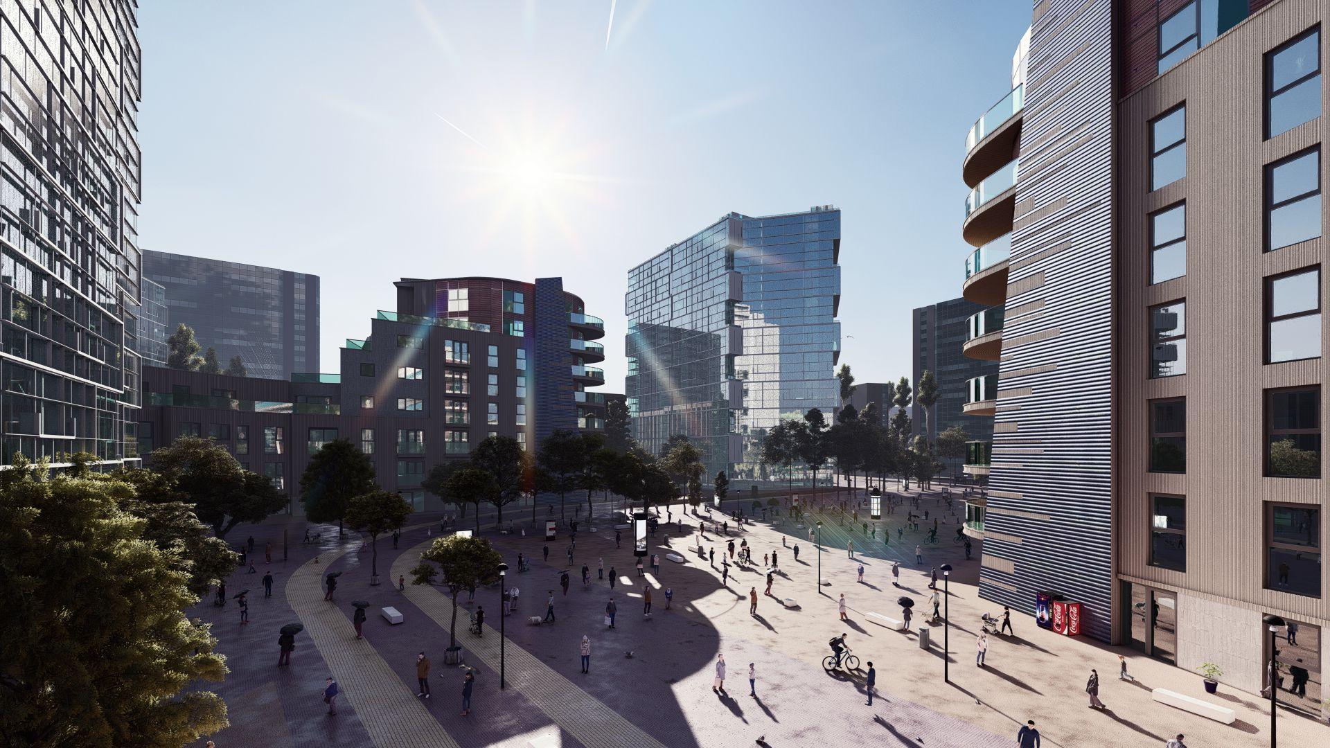 arhitektuurne 3d visualiseerimine hoone plokk 5