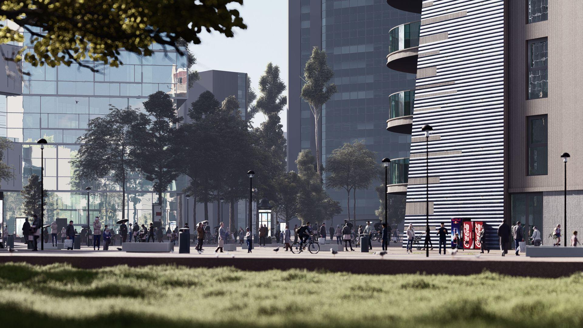 arhitektuurne 3d visualiseerimine hoone plokk 7