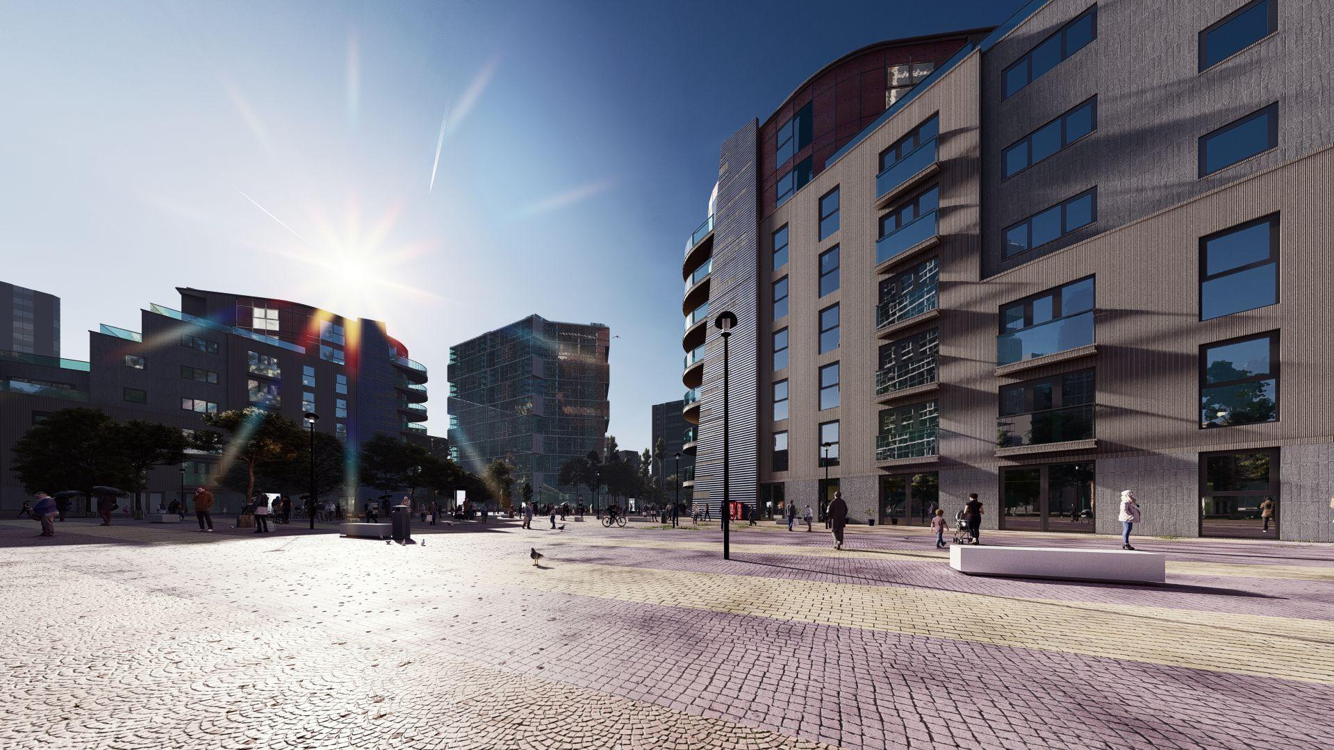 arhitektuurne 3d visualiseerimine hoone plokk 9