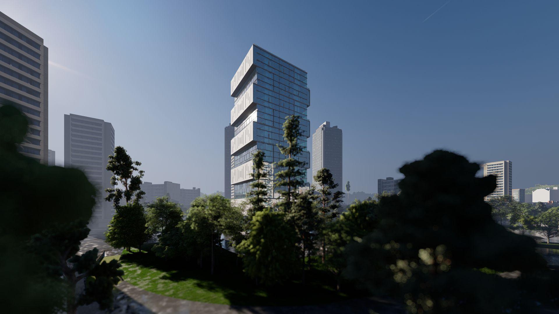 arhitektuurne 3d visualiseerimine pilve hoone 2 17