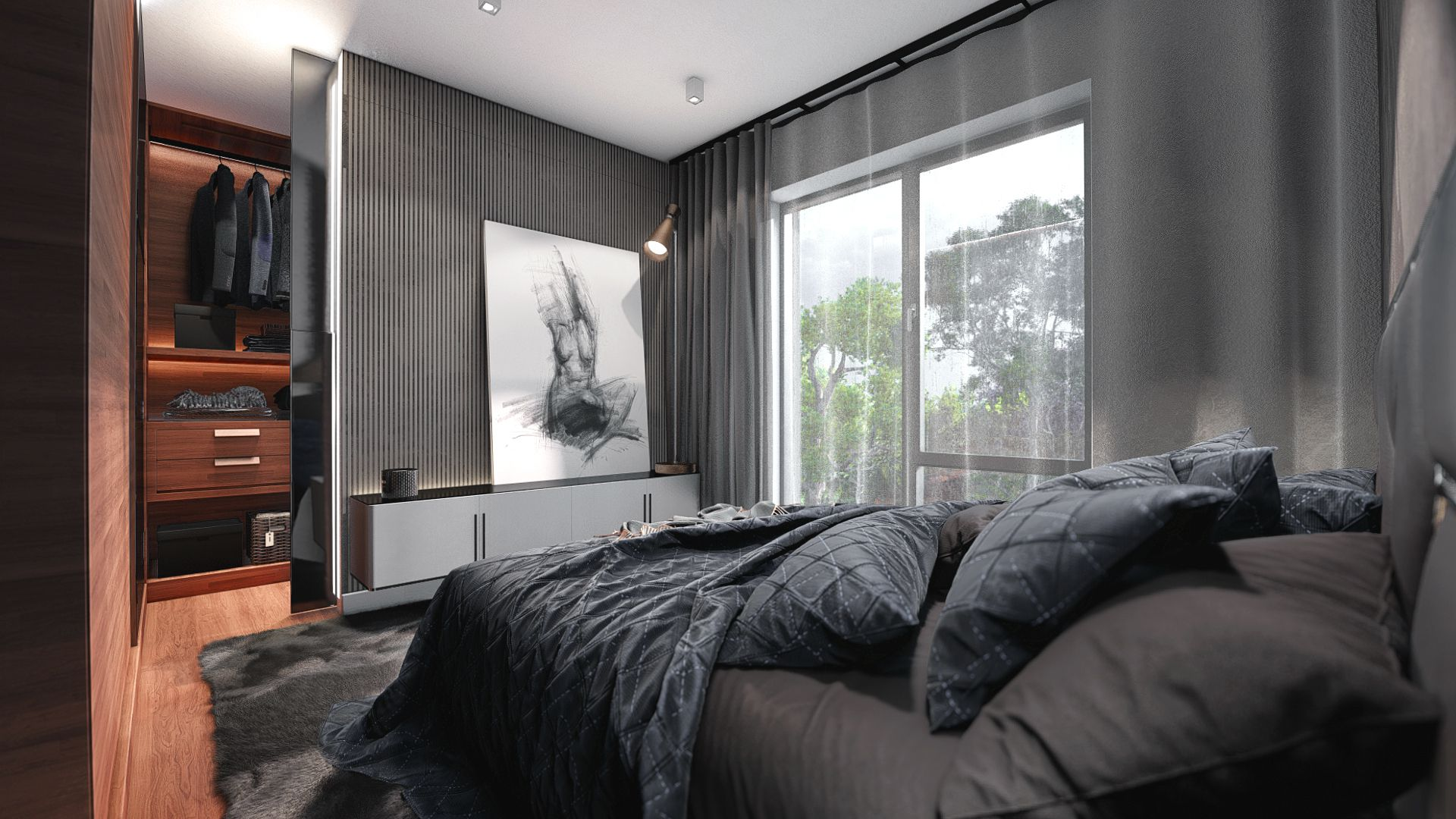 bedroom wardrobe v1