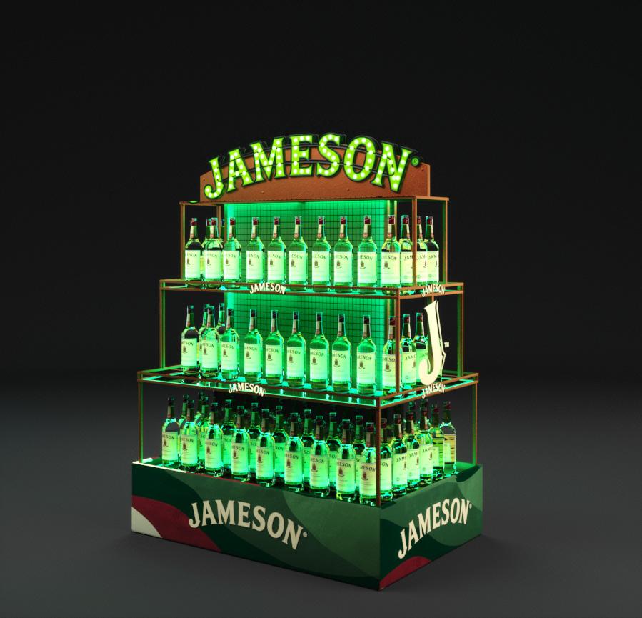 keskel postiga jameson display 3d draft