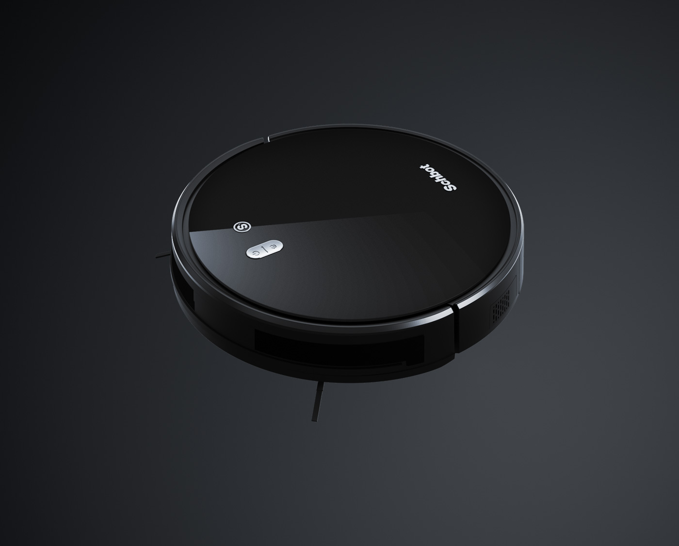 product rendering and 3d visualization schbot vacuum cleaner 3