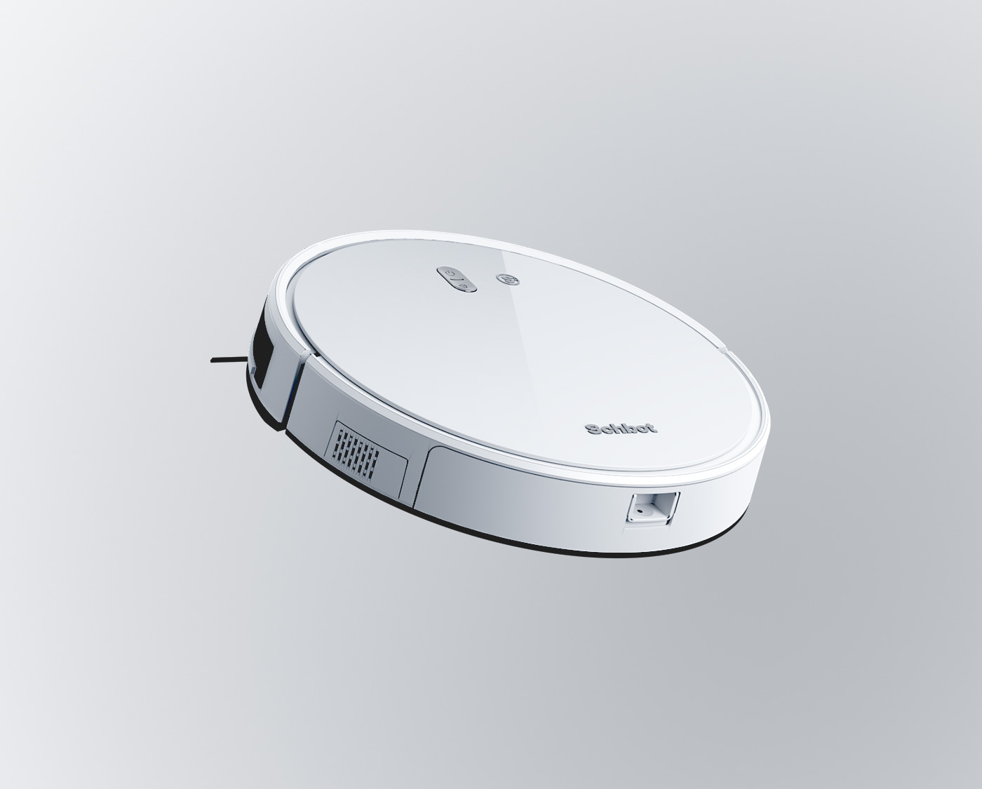 product rendering and 3d visualization schbot vacuum cleaner 8